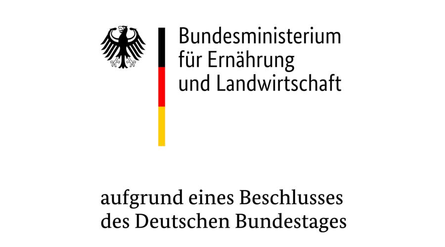 Logo des Bundesministerium für Ernährung und Landwirtschaft
